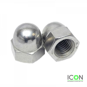 stainless dome nut