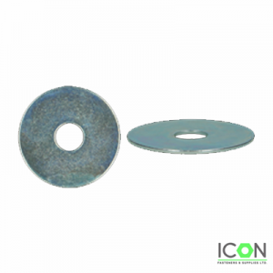 repair washer zinc plated
