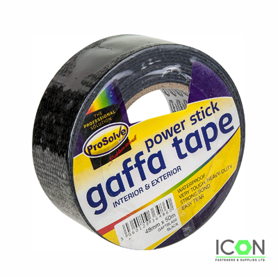 duct gaffa black tape