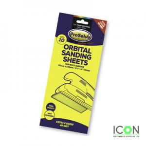 10pk orbital sanding sheets